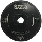 "4"" The Stinger Black fine grit flat vacuum brazed cup wheel"