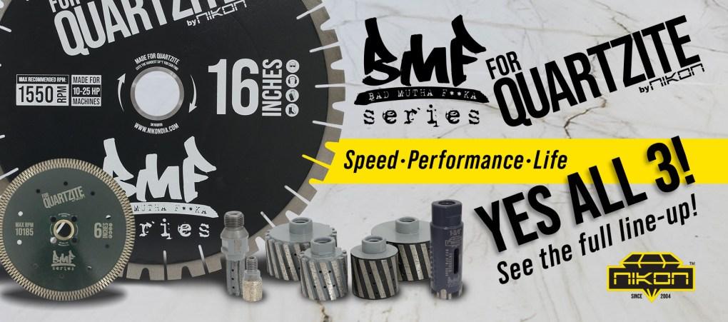 BMF Quartzite Series by Nikon Manufacturing