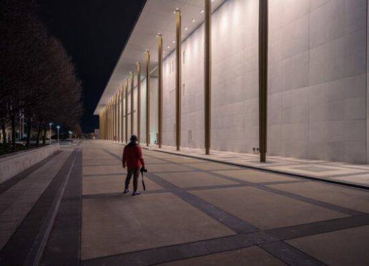 Me Shooting at the Kennedy Center – Z7ii ISO 1600 1 80th f3.2 Z14-24 2.8