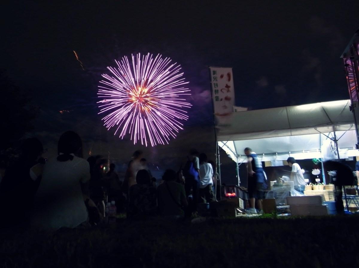 二子玉川の花火大会2018