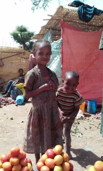 Yes, there are poor children in Ethiopia, just like in any other country.
