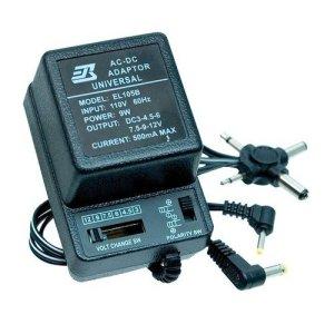 500mA Voltage Adjustable Powerpack (AC/DC Adapter) - 3V to 12V