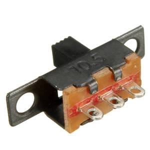 3 Pin ON/OFF Slide Switch (Small)