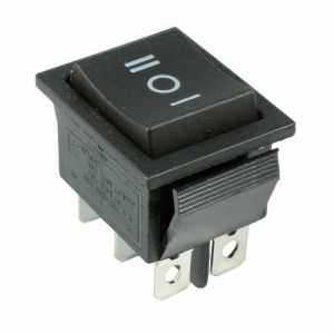 6 pin ON/OFF/ON Push type Switch (Large)