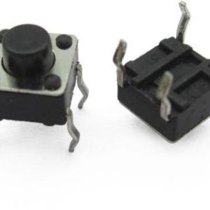 4 Pin Micro Button (Tactile Switch)