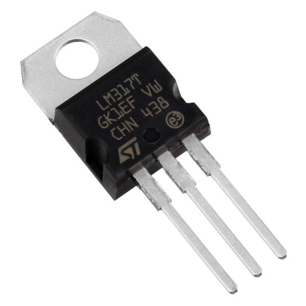 LM317 Adjustable Voltage regulator