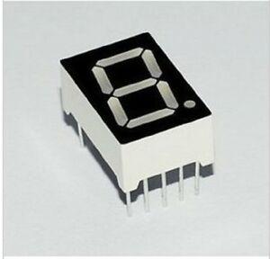 "7 Segment Display Common Cathode - Yellow Green 0.56"" (19mm x 13mm)"