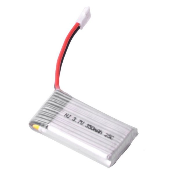 3.7V 350mAh Li-Polymer Battery 25C (Lipo)