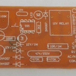 Dark Sensor PCB 230VAC ( IC Model )
