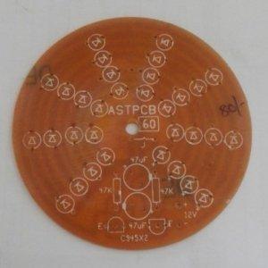 LED 32 Round PCB (72mm) (12VDC)