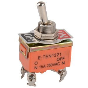 4 Pin Toggle switch ON/OFF 15A 250V