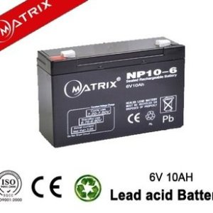 6V 10A Sealed Pb-acid Battery (Matrix)