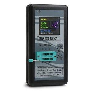 "Mosfet, Transistor, Capacitor, Diode, Resistor, Inductor, Capacitance, MOS SCR ESR Meter M328/Tester 1.8"" 12864 TFT Color LCD Digital Display"