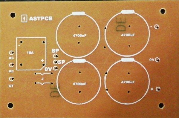 AC to DC Dual supply PCB