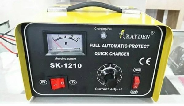 6V/12V 10A Automatic Battery charger (SK-1210)