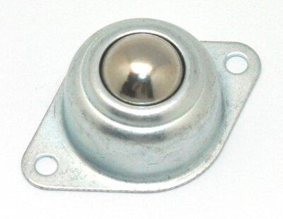 Steel Swivel Caster Ball Bearing Roller 15mm