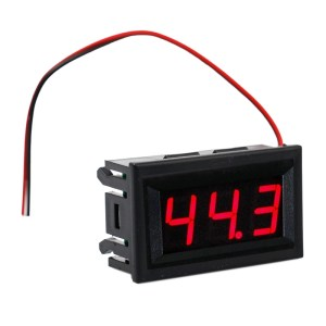 AC 70V-500V 0.56 inch 3 bits  voltage Instruments Red display  Digital Voltmeter Panel Volt Meter Testers