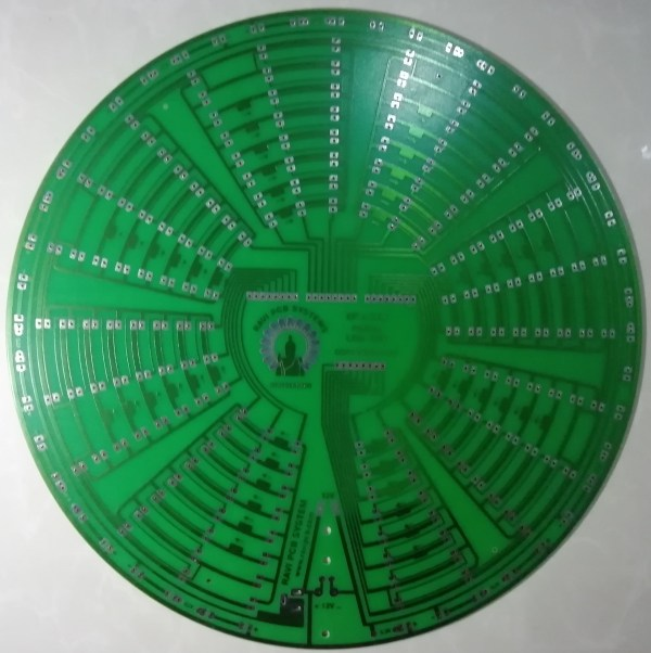 10 inch Buduresmala PCB with 8P x 24N Matrix Controller Card