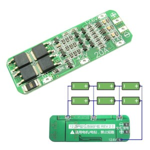 3S 20A 12.6V Li-ion Lithium Battery 18650 Charger Protection Board PCB BMS Cell Charging Protecting Module