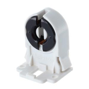 T8 T12 G13 Base Fluorescent & LED Tube Lamp Holder Sockets Snap-in Or Slide-On