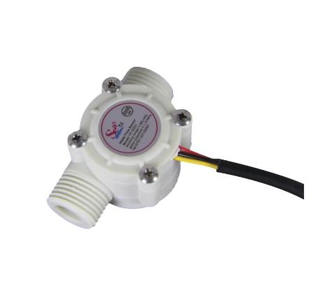"""YF-S201 Water Flow Sensor / Fluid Flowmeter Control Switch 0.5inch (1/2"""")"""