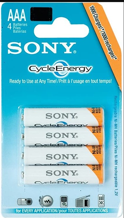 Ni-MH AAA 1.2V Rechargeable Batteries 4 pcs (NH-AAA HR11/45)