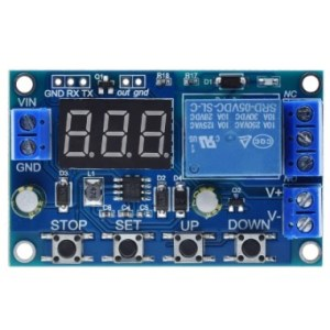 DC 0-60V Battery Charger controller with Over Charge Discharge Protection Board with display
