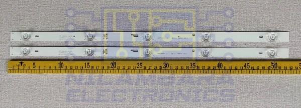 TCL 6V 5LED SQURE Back Light Strips 2Pcs Set (32D2100)