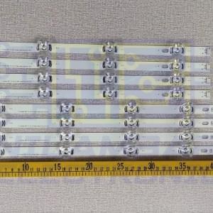 "LG 6V 42"" Back Light Strips 8Pcs Set"