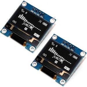 0.96 inch 128X64 OLED Display Module I2C IIC Serial - White