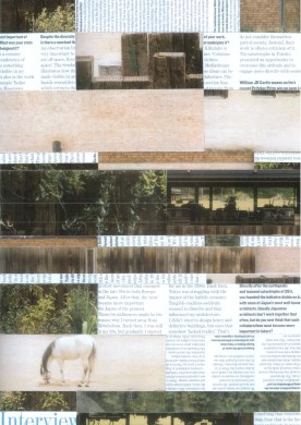 Hard copy collage