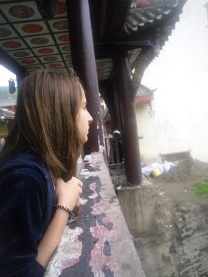 My twin sister,Songpan,Sichuan,China