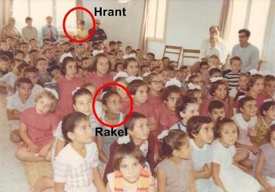 Beni hep etkileyen fotoğraf; Hrant ve Rakel Dink,  Kamp Armen'de yani Tuzla Ermeni Yetimhanesi'nde...