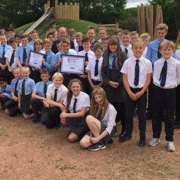 Mossend Pupils Scoop National Award