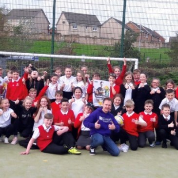 Airdrie Pupils Step up to the Spot