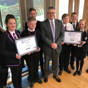 Gourock Goes to Holyrood