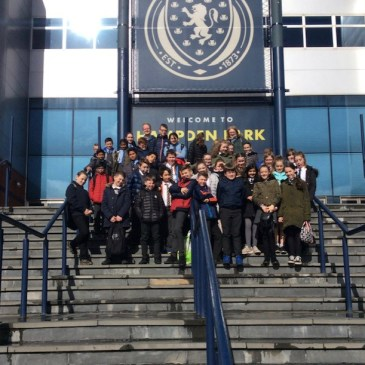 Primary Pupils Play Their Part At Hampden