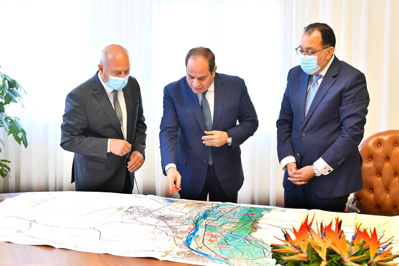 «رئيس الجمهورية» يوجّه بدعم المخصصات المالية لمشروعات وزارة النقل