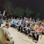 بالصور|«أبو المعاطي» المعروف بـ«أجرأ نائب في مصر» يواصل جولاته قبل انتخابات «النواب» في دمياط