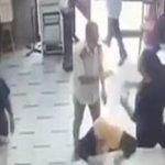 «مصروفات المدرسة» كلمة السر في فيديو مشاجرة مدير مدرسة وولي أمر طالب