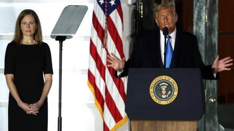 الرئيس الأميركي يرحب بالقاضية الجديدة .. «يوم تاريخي»