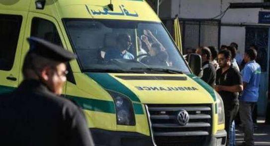 مصرع 12 وإصابة 5 آخرين في تصادم «نقل» و«ميكروباص» في «المنيا»