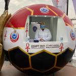 1562 «pcr» للمشاركين في «مونديال اليد 2021»