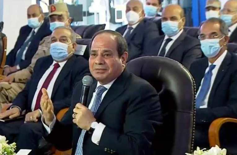 «السيسي» لـ«وزير الزراعة»: حلمنا أكبر من الفطيرة إللي بنقدمها لأطفال المدارس
