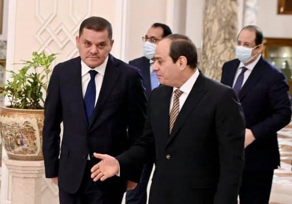 «السيسي»: حريصون على دعم الشعب الليبي