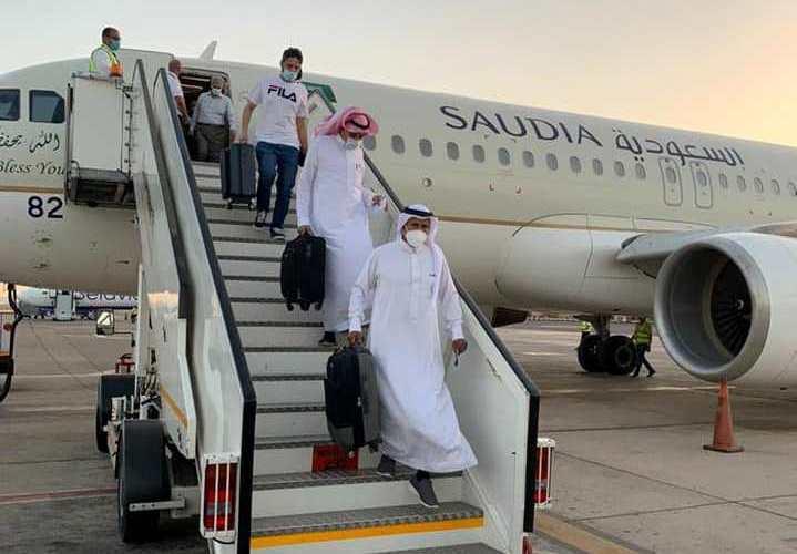 مطار شرم الشيخ الدولى يستقبل أولي الرحلات السياحية من جدة والرياض