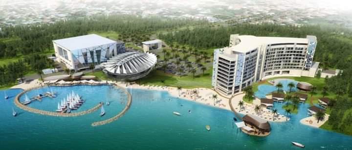 Image result for sudhir multi million sese island hotel