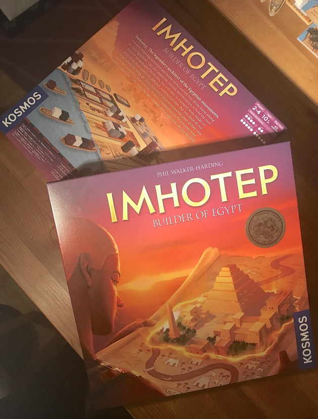 """""""Imhotep: Builder of Egypt"""" Game Box"""
