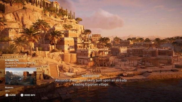 Touring ancient Alexandria (author's photo)