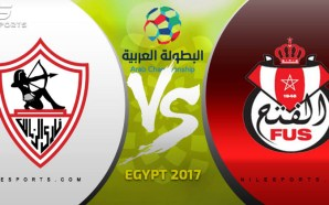 LIVE: Zamalek SC v FUS Rabat | Arab Championship 2017…